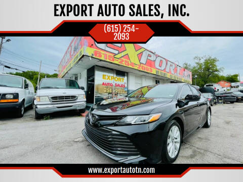 2018 Toyota Camry for sale at EXPORT AUTO SALES, INC. in Nashville TN