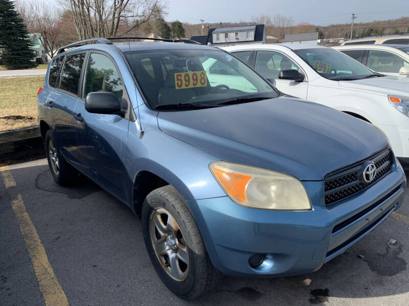 2006 Toyota RAV4 for sale at BURNWORTH AUTO INC in Windber PA