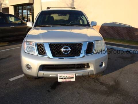 2008 Nissan Pathfinder for sale at Source Auto Group in Lanham MD