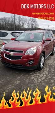2011 Chevrolet Equinox for sale at DDK Motors LLC in Rock Hill NY