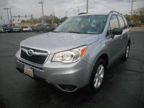 2016 Subaru Forester for sale at Windsor Auto Sales in Loves Park IL