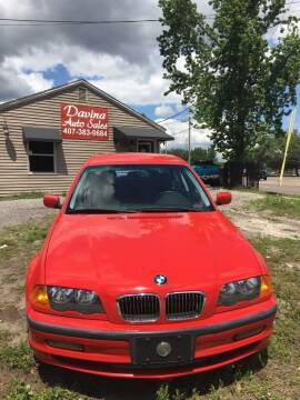 2000 BMW 3 Series for sale at DAVINA AUTO SALES in Casselberry FL