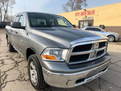 2010 Dodge Ram Pickup 1500 for sale at City Auto Sales in Roseville MI
