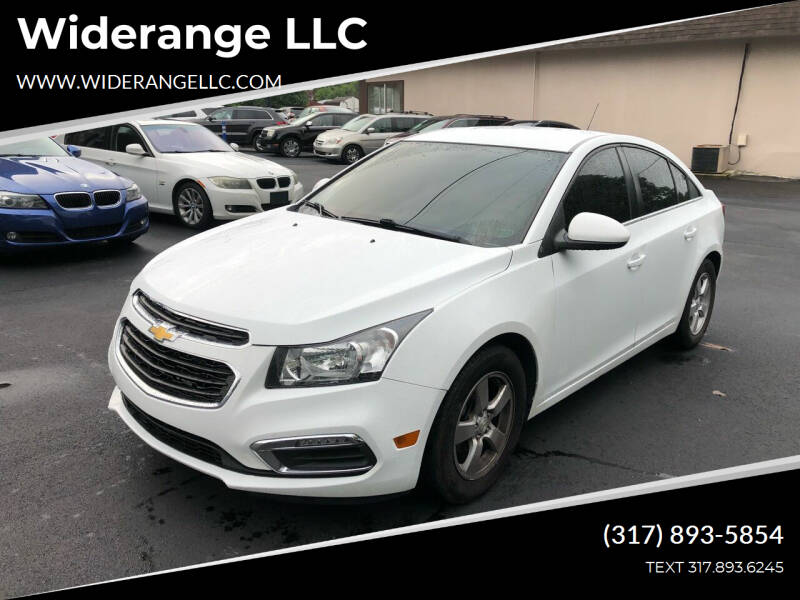 2015 Chevrolet Cruze for sale at Widerange LLC in Greenwood IN