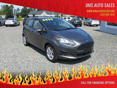 2015 Ford Fiesta for sale at Jims Auto Sales in Lakehurst NJ