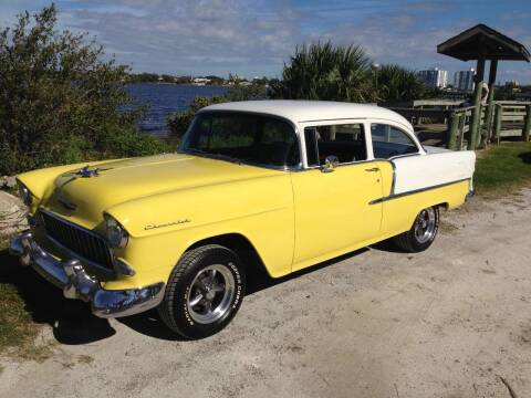 1955 Chevrolet Bel Air for sale at Right Pedal Auto Sales INC in Wind Gap PA