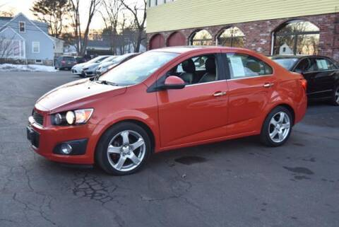 2012 Chevrolet Sonic for sale at Absolute Auto Sales, Inc in Brockton MA