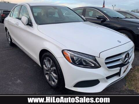 2016 Mercedes-Benz C-Class for sale at Hi-Lo Auto Sales in Frederick MD