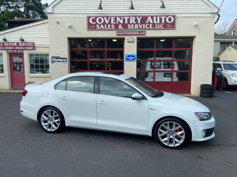 2014 Volkswagen Jetta for sale at COVENTRY AUTO SALES in Coventry CT