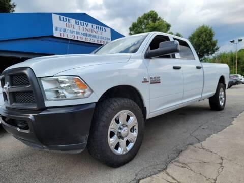 2015 RAM Ram Pickup 3500 for sale at Capital Motors in Raleigh NC