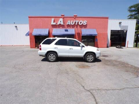 2003 Acura MDX for sale at L A AUTOS in Omaha NE
