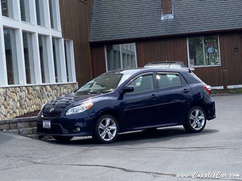 2013 Toyota Matrix for sale at Cupples Car Company in Belmont NH