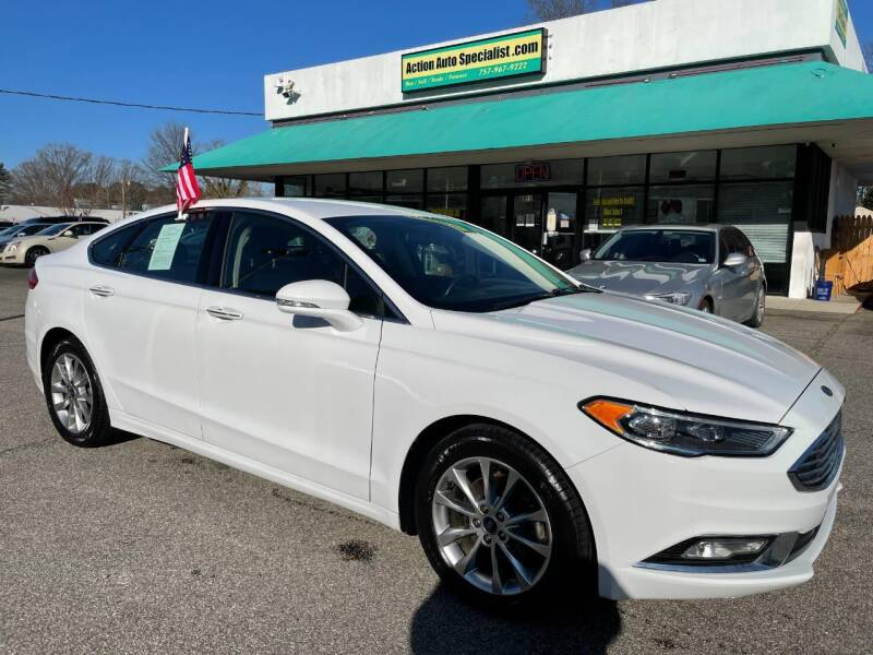 2017 Ford Fusion for sale at Action Auto Specialist in Norfolk VA