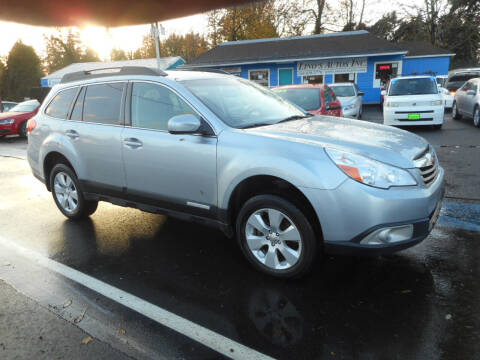 2012 Subaru Outback for sale at Lino's Autos Inc in Vancouver WA