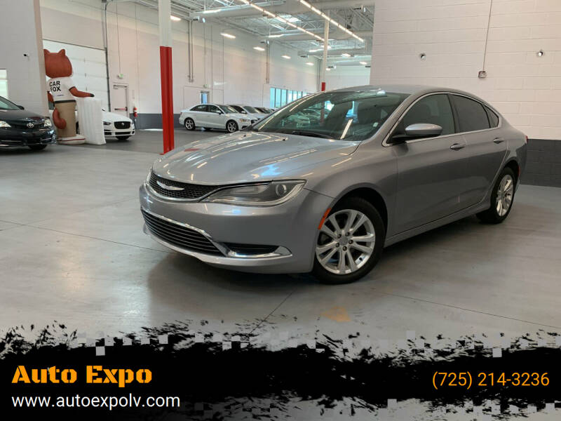 2016 Chrysler 200 for sale at Auto Expo in Las Vegas NV