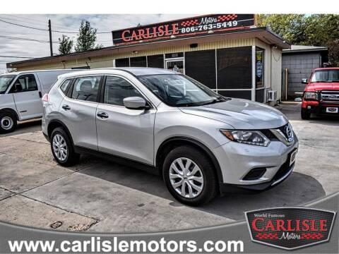 2016 Nissan Rogue for sale at Carlisle Motors in Lubbock TX