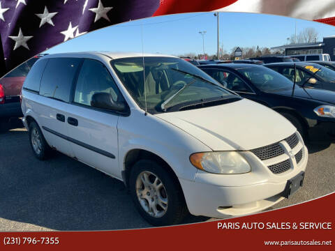 2004 Dodge Grand Caravan for sale at Paris Auto Sales & Service in Big Rapids MI