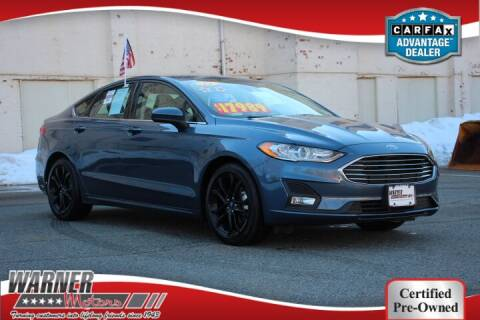 2019 Ford Fusion for sale at Warner Motors in East Orange NJ