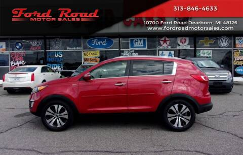 2012 Kia Sportage for sale at Ford Road Motor Sales in Dearborn MI