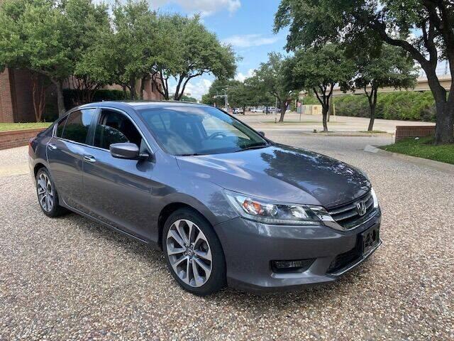 2014 Honda Accord for sale at KAM Motor Sales in Dallas TX