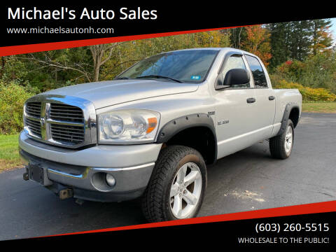 2008 Dodge Ram Pickup 1500 for sale at Michael's Auto Sales in Derry NH