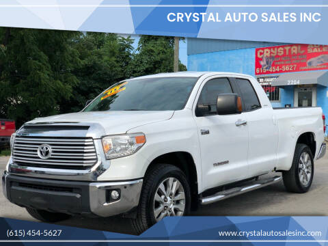 2015 Toyota Tundra for sale at Crystal Auto Sales Inc in Nashville TN