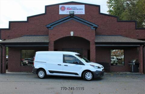 2016 Ford Transit Connect Cargo for sale at Atlanta Auto Brokers in Cartersville GA