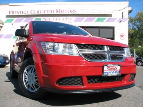 2012 Dodge Journey for sale at Prestige Certified Motors in Falls Church VA