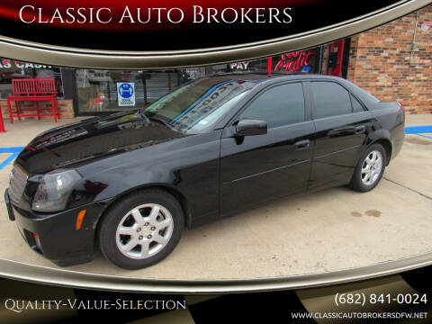2005 Cadillac CTS for sale at Classic Auto Brokers in Haltom City TX