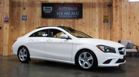 2016 Mercedes-Benz CLA for sale at Boone NC Jeeps-High Country Auto Sales in Boone NC