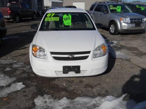 2007 Chevrolet Cobalt for sale at Shaw Motor Sales in Kalkaska MI