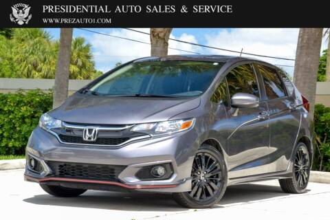 2018 Honda Fit for sale at Presidential Auto  Sales & Service in Delray Beach FL