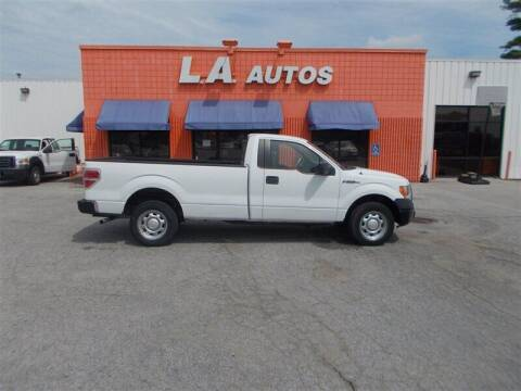 2010 Ford F-150 for sale at L A AUTOS in Omaha NE