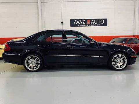 2007 Mercedes-Benz E-Class for sale at AVAZI AUTO GROUP LLC in Gaithersburg MD