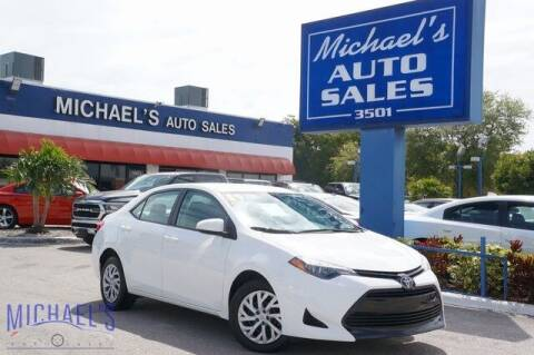2019 Toyota Corolla for sale at Michael's Auto Sales Corp in Hollywood FL