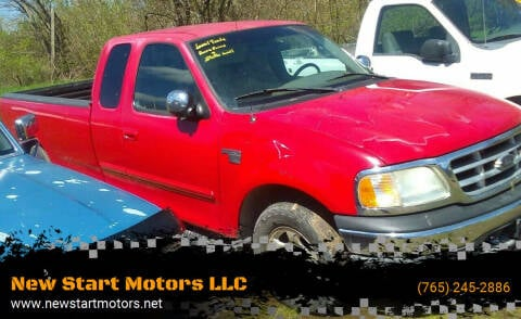 2000 Ford F-150 for sale at New Start Motors LLC - Rockville in Rockville IN