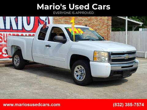 2011 Chevrolet Silverado 1500 for sale at Mario's Used Cars - South Houston Location in South Houston TX