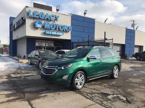 2018 Chevrolet Equinox for sale at Legacy Motors in Detroit MI
