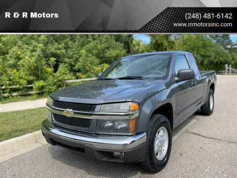 2008 Chevrolet Colorado for sale at R & R Motors in Waterford MI