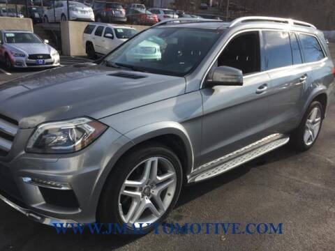 2015 Mercedes-Benz GL-Class for sale at J & M Automotive in Naugatuck CT