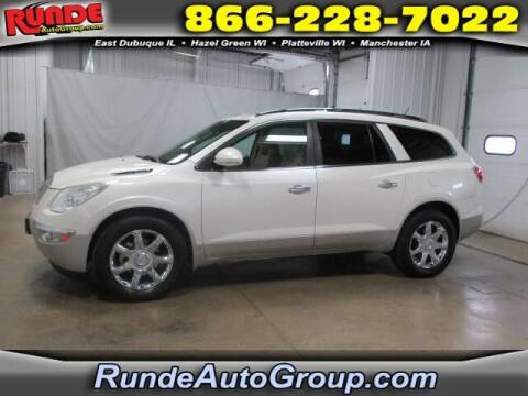 2010 Buick Enclave for sale at Runde PreDriven in Hazel Green WI