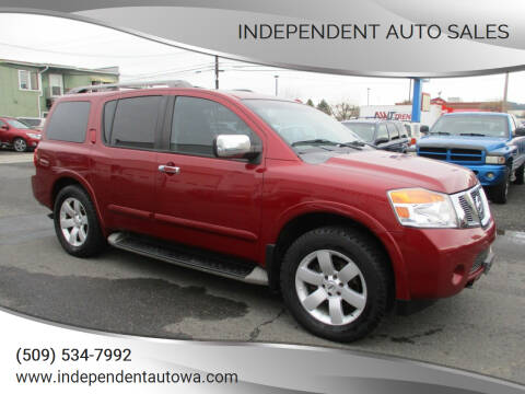 2008 Nissan Armada for sale at Independent Auto Sales in Spokane Valley WA