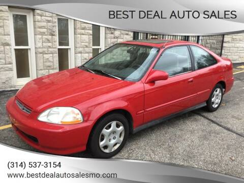 1998 Honda Civic for sale at Best Deal Auto Sales in Saint Charles MO