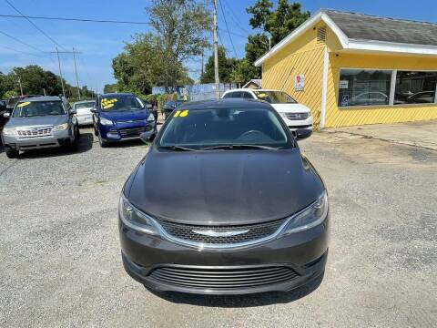 2016 Chrysler 200 for sale at THE COLISEUM MOTORS in Pensacola FL