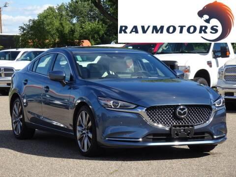 2018 Mazda MAZDA6 for sale at RAVMOTORS in Burnsville MN