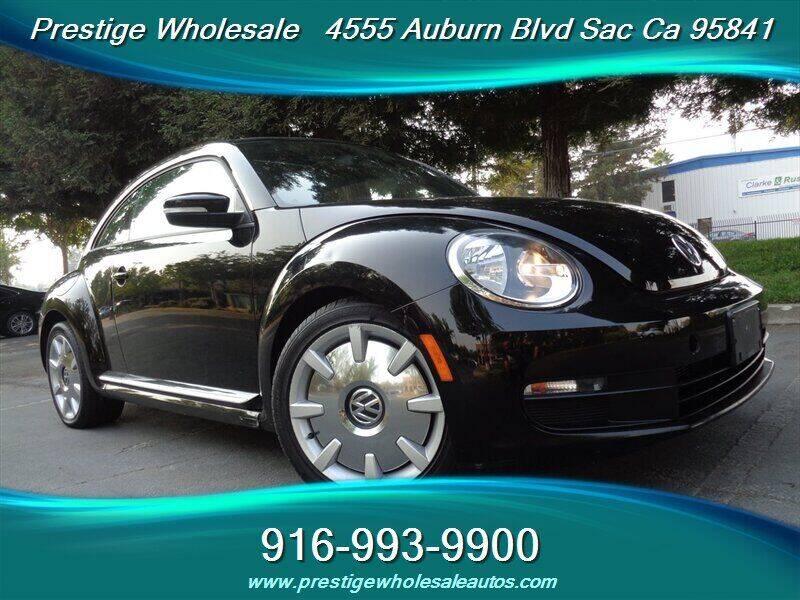2012 Volkswagen Beetle for sale at Prestige Wholesale in Sacramento CA