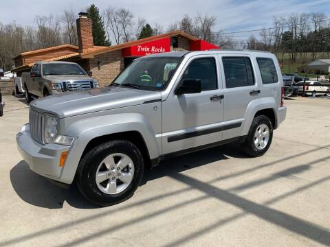 2012 Jeep Liberty for sale at Twin Rocks Auto Sales LLC in Uniontown PA