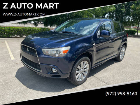 2011 Mitsubishi Outlander Sport for sale at Z AUTO MART in Lewisville TX