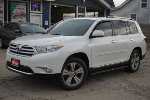2012 Toyota Highlander for sale at Cass Auto Sales Inc in Joliet IL