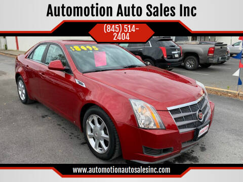 2008 Cadillac CTS for sale at Automotion Auto Sales Inc in Kingston NY